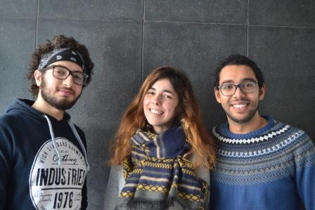 Aleks, Alaeddine & Dani