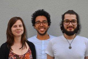 Alaeddine, Dani & Ildiko