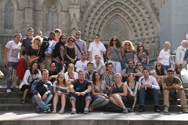 Youth Exchange Cataluna Jugendbegegnung Spanien