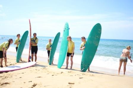 Surfcamp Comillas