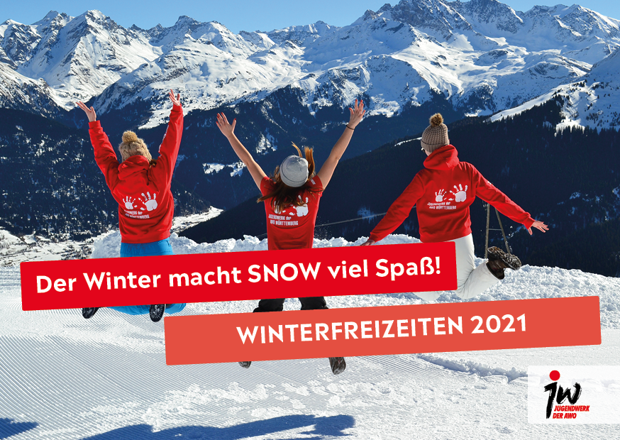 JW Winter 20-21 Postkarte - Querformat - Normal