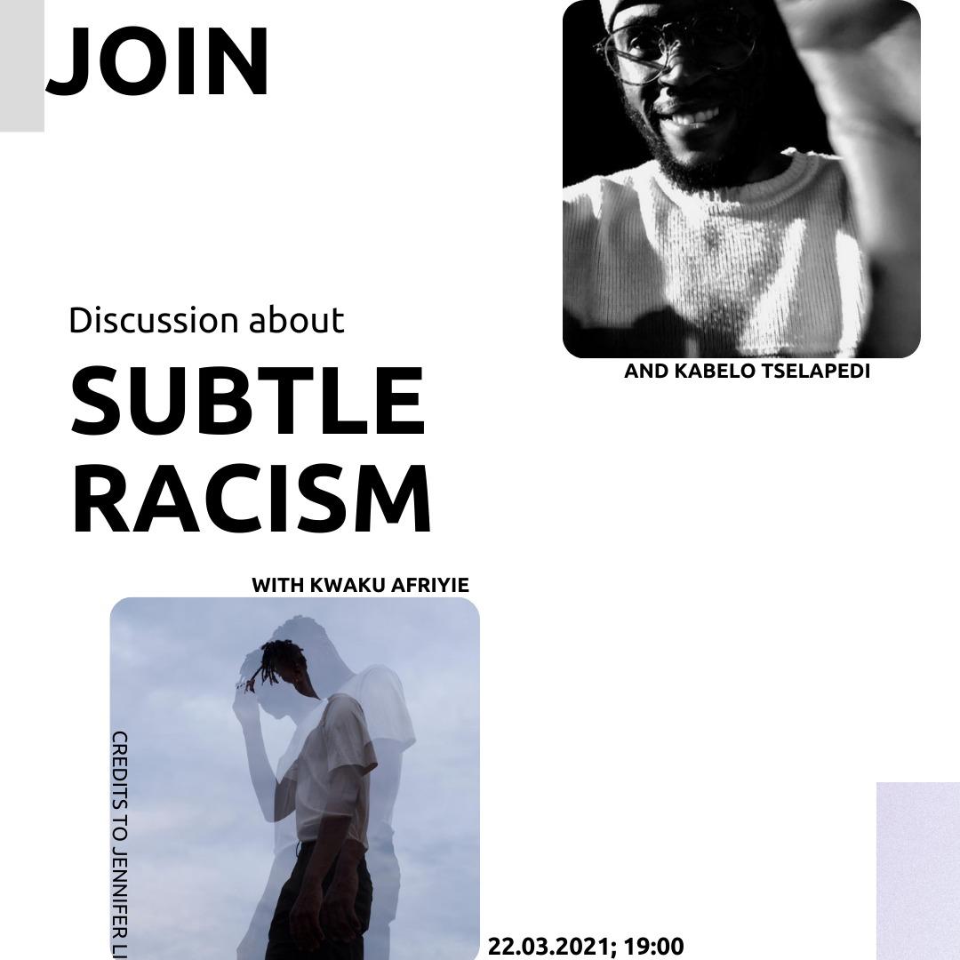 Subtile Racism Jugendwerk